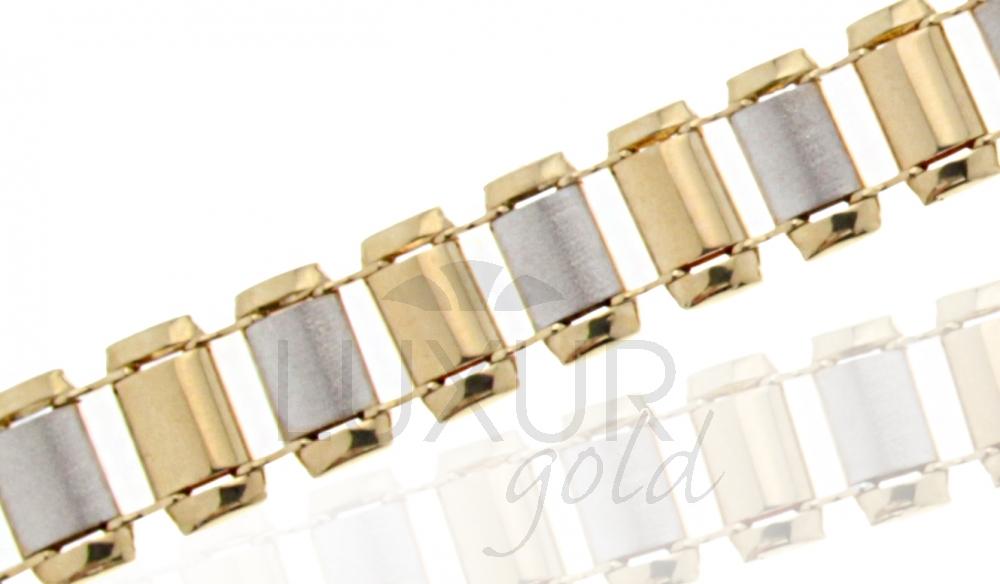 Zlatý náramek Briline lux 1440629/18cm