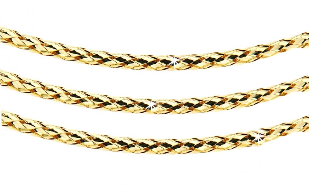 Zlatý náhrdelník Briline1348132-0-45-0