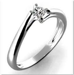 Diamantový zásnubní prsten GEMS Adira 3860013