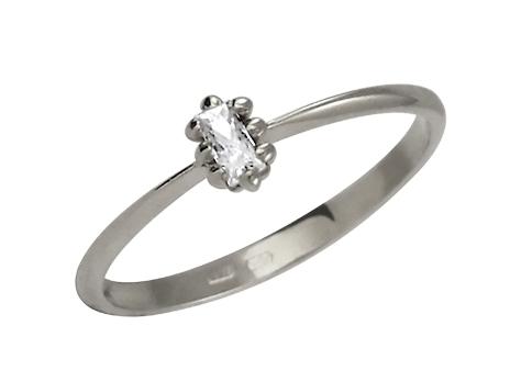 Zásnubní prsten s briliantem Briline 14096107