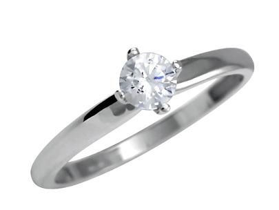 Zásnubní prsten s briliantem Briline 14093907