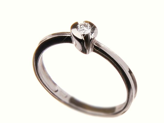 Zásnubní diamantový prsten 84307