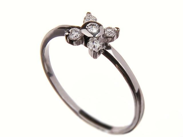 Prsten s brilianty 43007