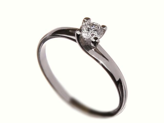Briliantový zásnubní prsten Briline 9007