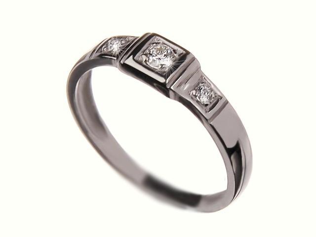Prsten s brilianty 36407