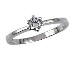 Zásnubní diamantový prsten 14090307