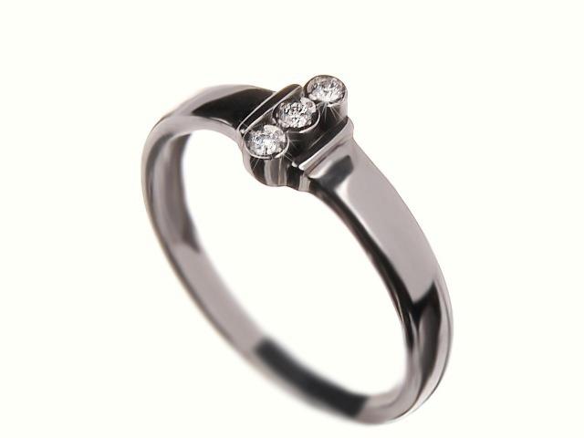Prsten s brilianty 37707