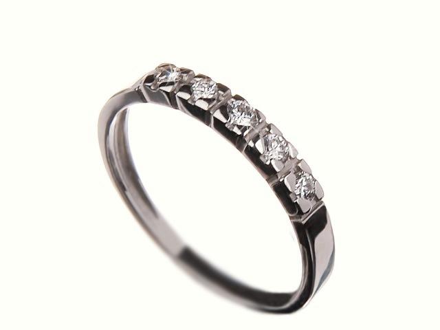 Prsten s brilianty 35807