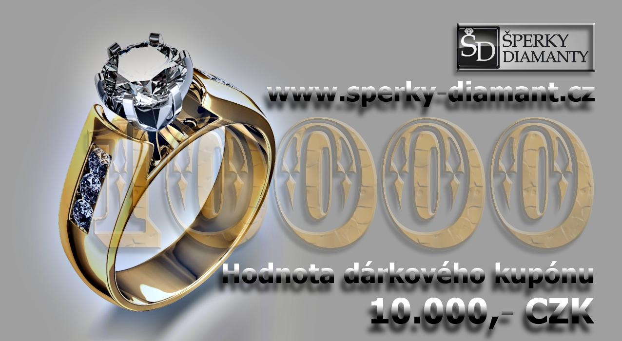 Dárkový poukaz 10000 Kč