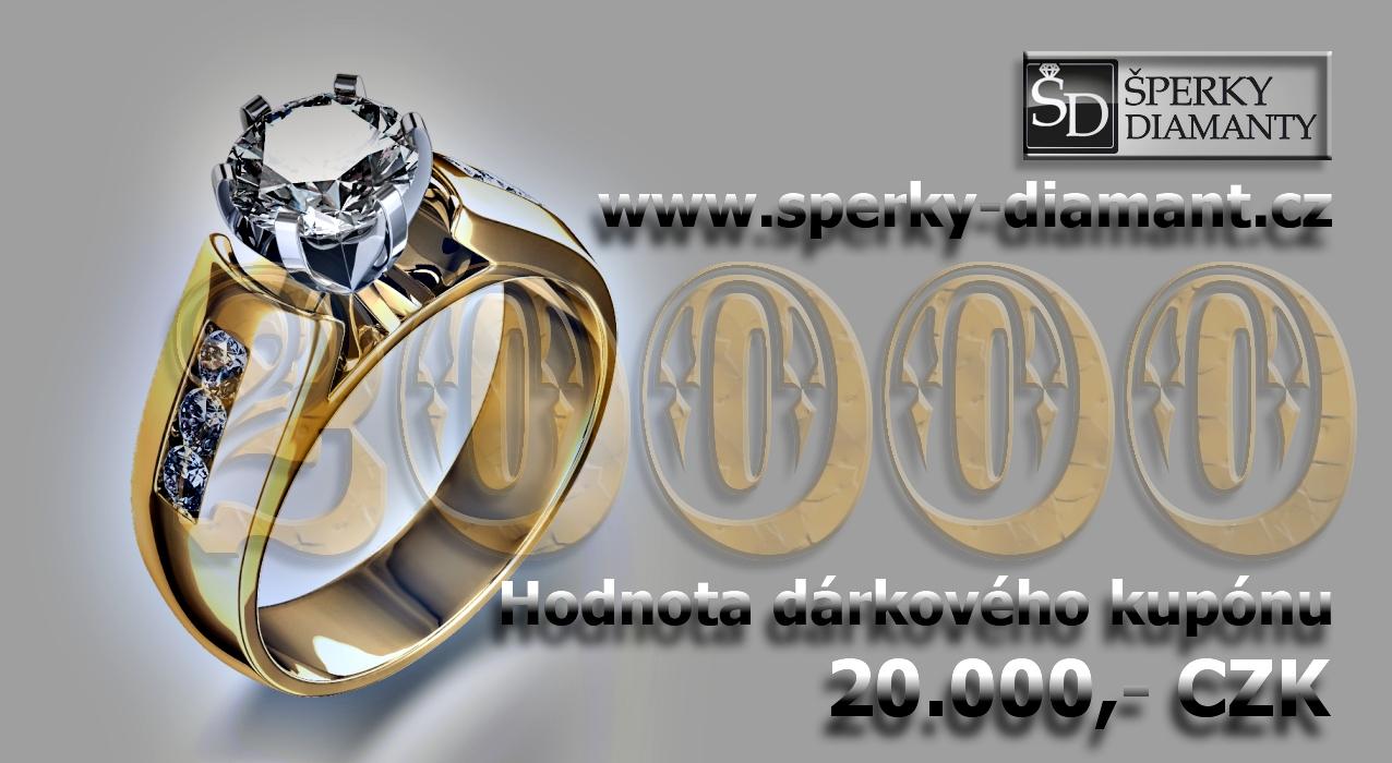 Dárkový poukaz 20000 Kč