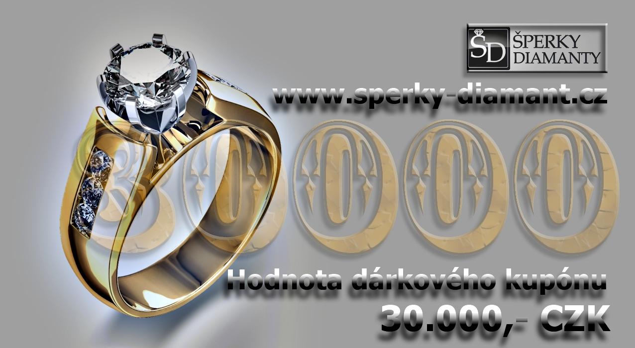 Dárkový poukaz 30000 Kč