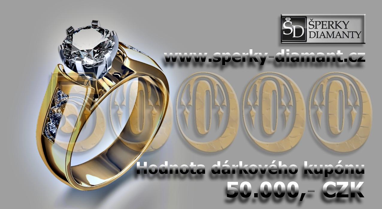 Dárkový poukaz 50000 Kč