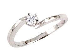 Diamantový zásnubní prsten Briline 85907