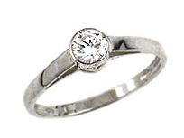 Zásnubní diamantový prsten 83407