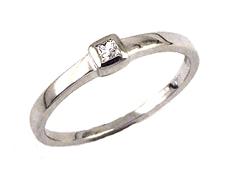 Zásnubní briliantový prsten 78007