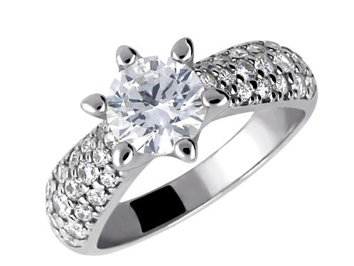 Exkluzivní diamantový prsten 4045087