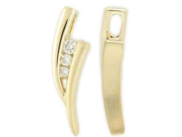 Přívěsek s diamantem, žluté zlato brilianty 3820191-1-0-99