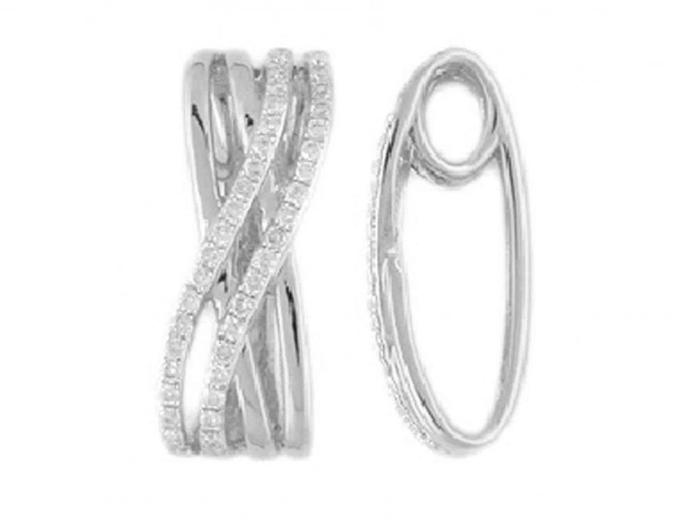 Přívěsek s diamantem, bílé zlato brilianty 3870447-0-0-99