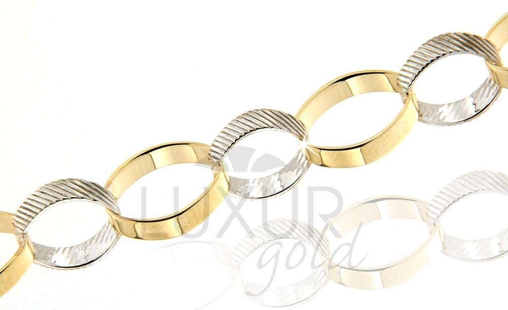 Zlatý náhrdelník Briline 1440591-5-19-0