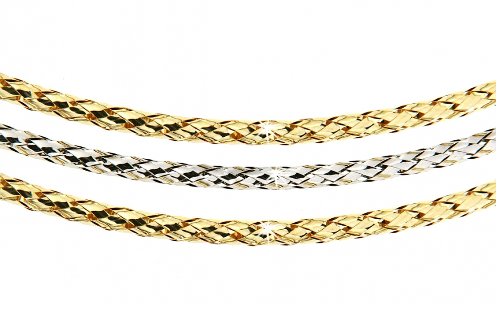 Zlatý náhrdelník Briline1348132-5-42-0