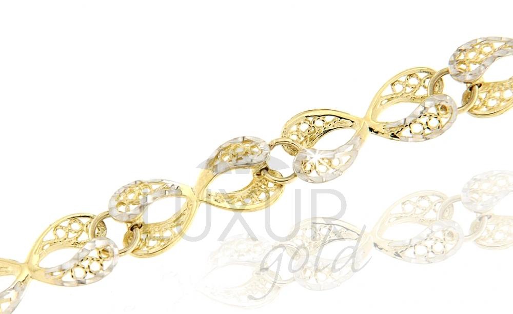 Zlatý náhrdelník Briline1440576-5-18-0