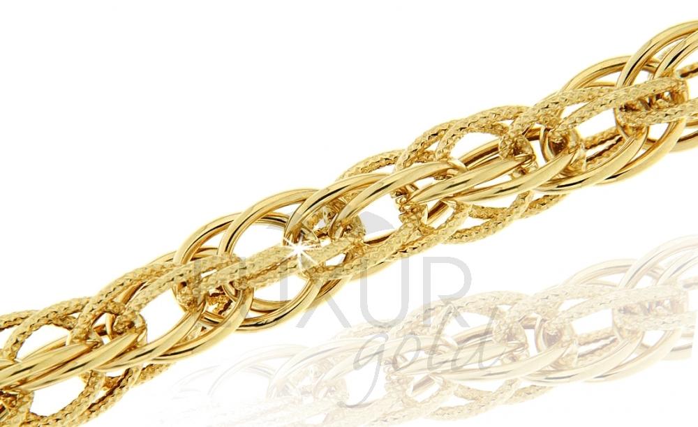 Zlatý náhrdelník 1440434-0-46-0