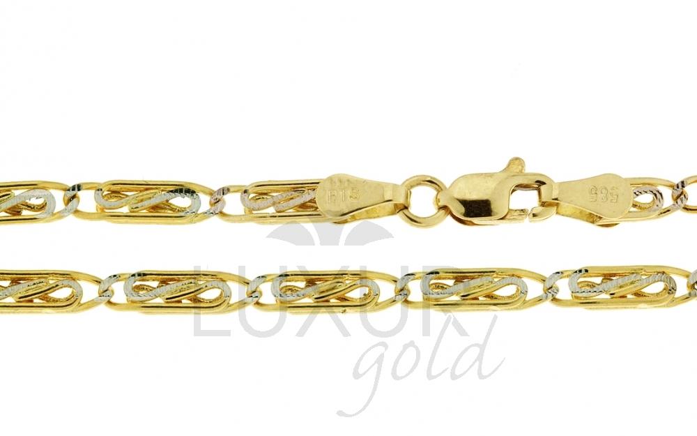 Zlatý náramek Briline3640028-0-17-0