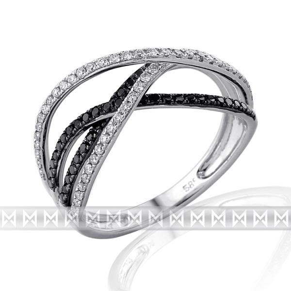 Luxusní briliantový prsten 3861486