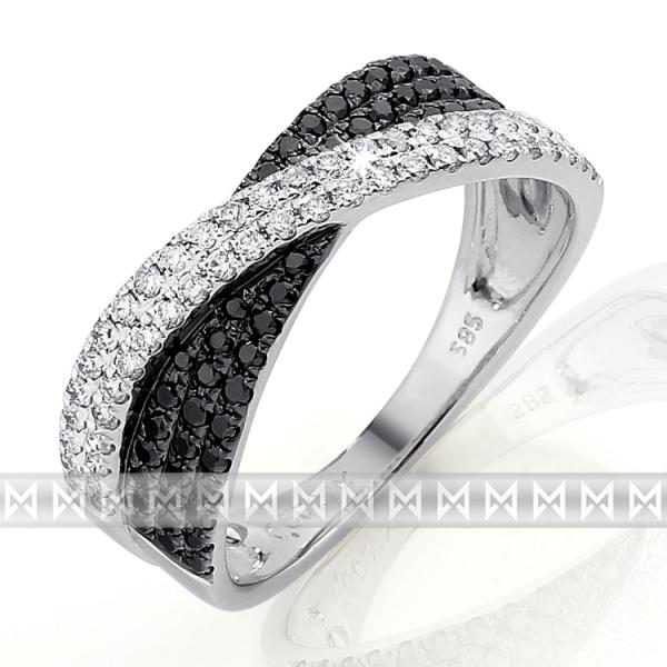 Exklusivní briliantový prsten 3861481