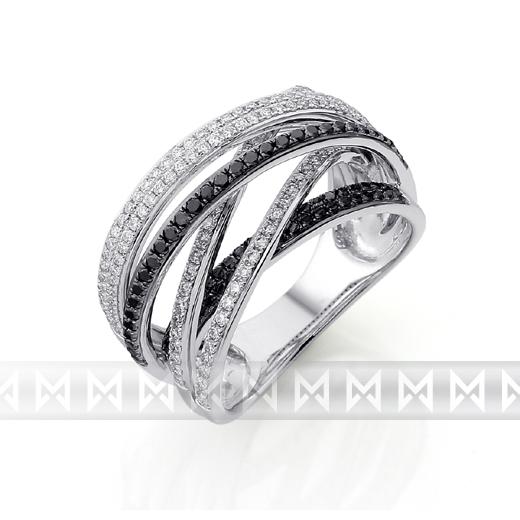 Exklusivní briliantový prsten 3861496