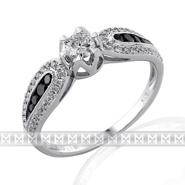 Exklusivní briliantový prsten 3861777