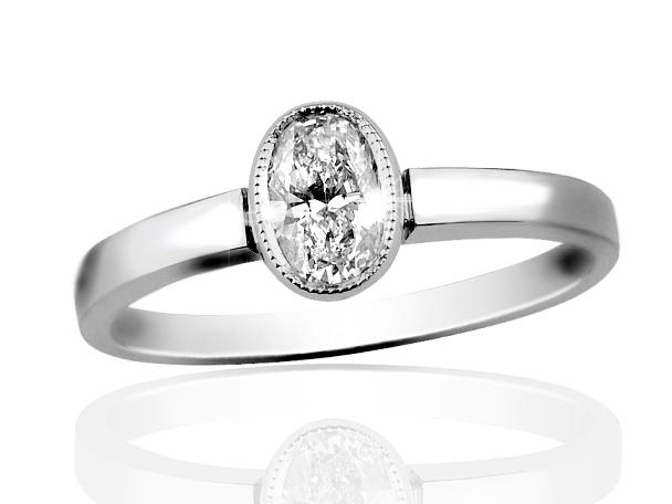 Prsten s diamantem řady Briline 02-56  76d16d2e0da