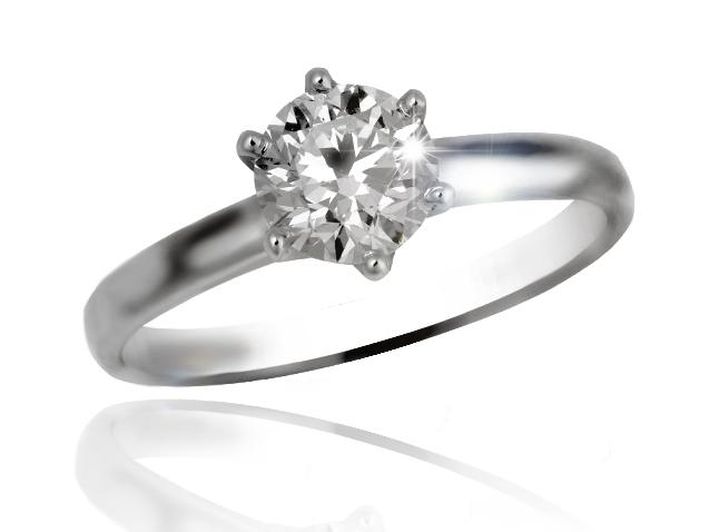 Exkluzivní prsten s diamantem řady Briline 11-89
