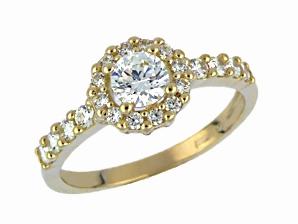 Luxusní briliantový prsten 40438
