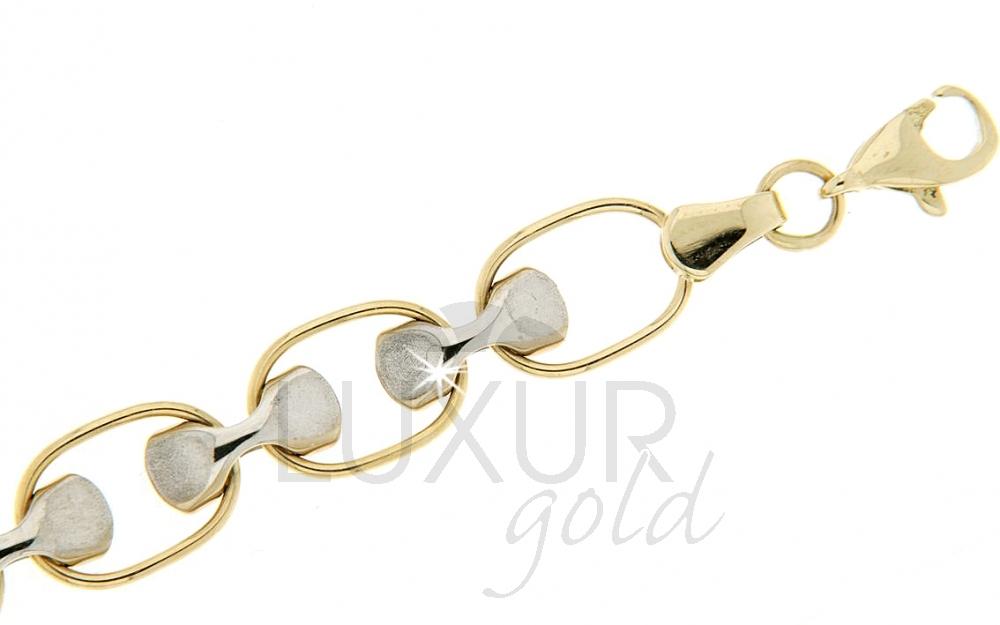 Zlatý náramek Briline lux 1440348/19cm